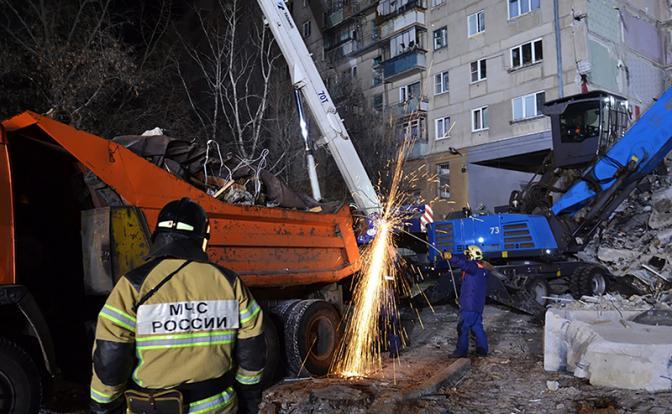 Взрыв в Магнитогорске: Ищут 37 человек, среди них - 11-месячный Ванечка