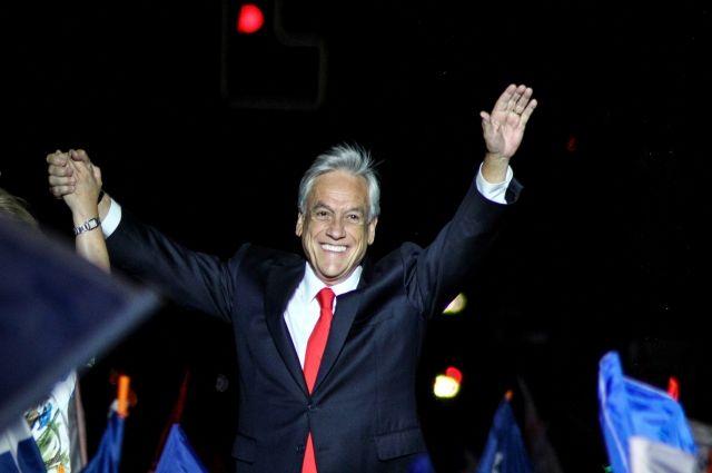 Президентом Чили избран миллиардер Себастьян Пиньера