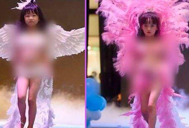 Скандал на шоу Victorias Sec…