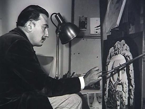 Дали пользовался особым методом для написания своих сюрреалистических картин
