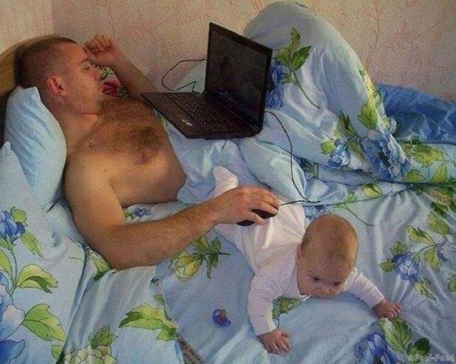 30 фото, от которых будут смеяться все родители. Позитив на весь день!
