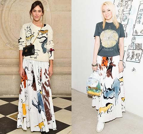Модная битва: Алекса Чанг против Яны Рудковской