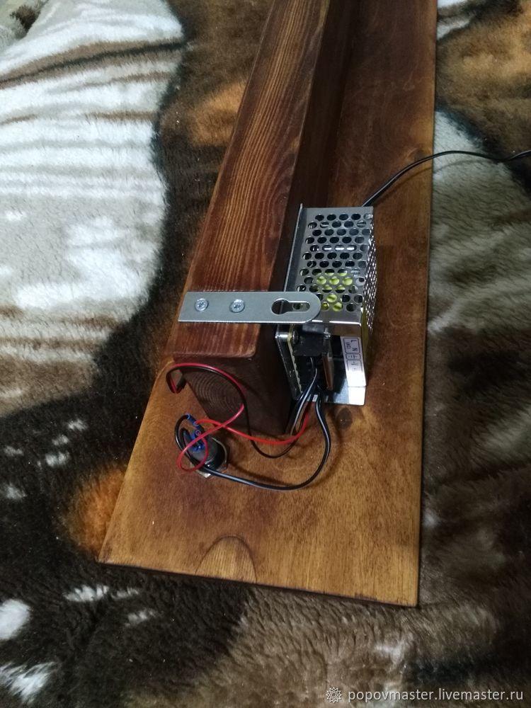 Мастер-класс: делаем оригинальный LED светильник