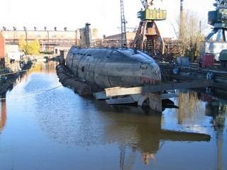 Подводная лодка Б-307 (экспозиция технического музея ВАЗа)