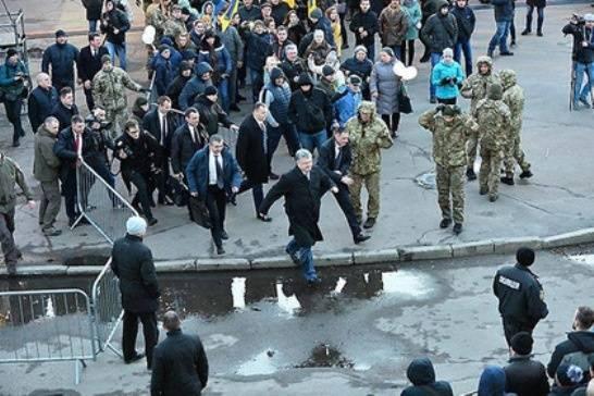 Украина: политические страсти и морские мордасти