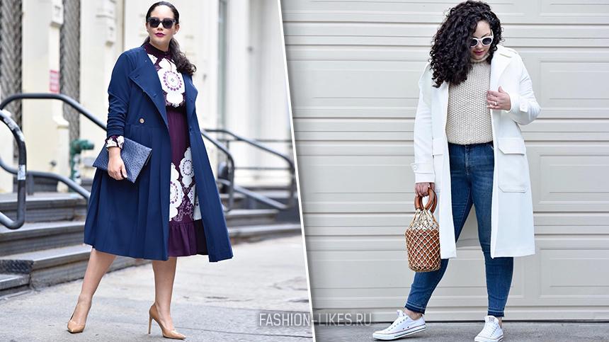 5 моделей пальто будто созданы для женщин с пышными формами