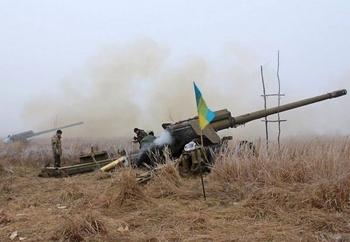 Украинские военные поцапались с нациками