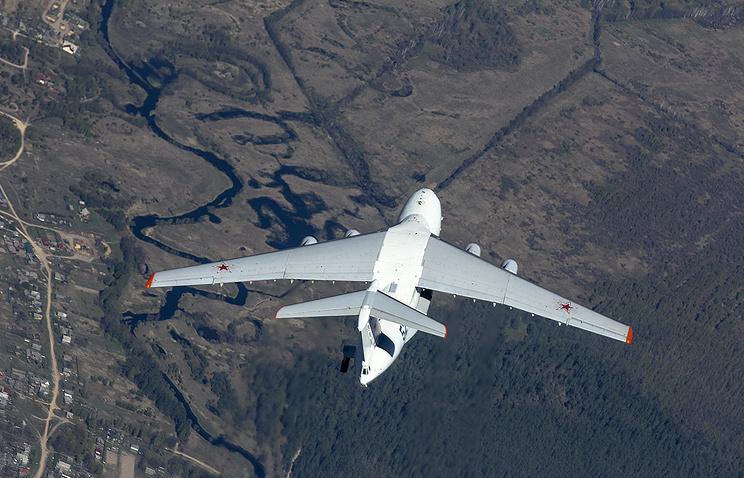 Новый боевой самолет России …