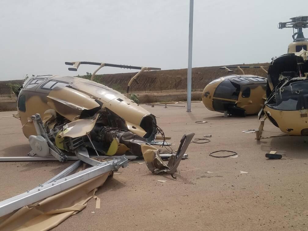 ВВС Чада повреждены ураганом
