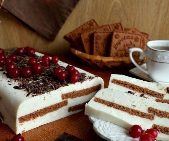 Творожный тортик без выпечки: когда десерт и вкусен и полезен!