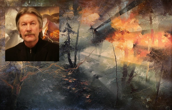Литовский живописец Петрас Лукосиус.