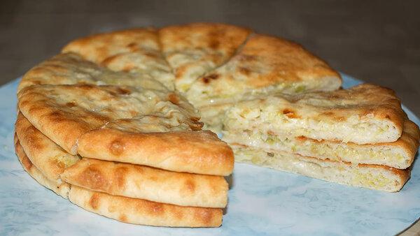 Замечательные осетинские пироги с капустой и сыром ? Устоять невозможно