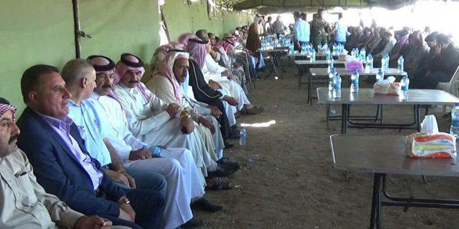 Арабские племена призвали к …