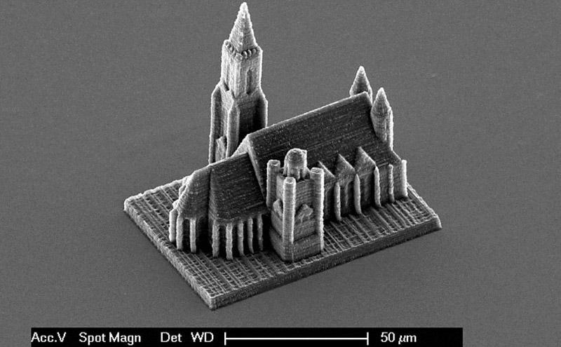 0511 Удивительный трехмерный нанопринтер