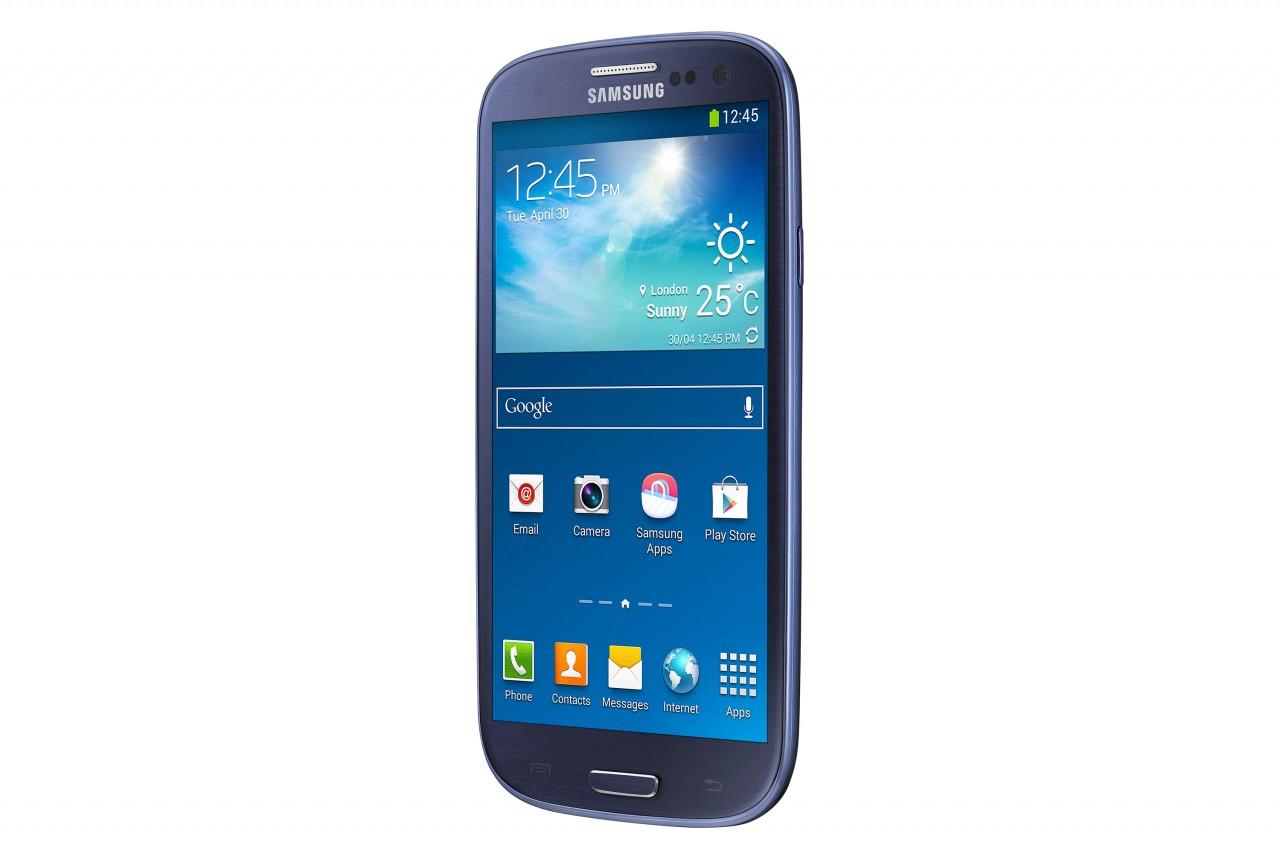 Синий Samsung Galaxy S III Dual Sim