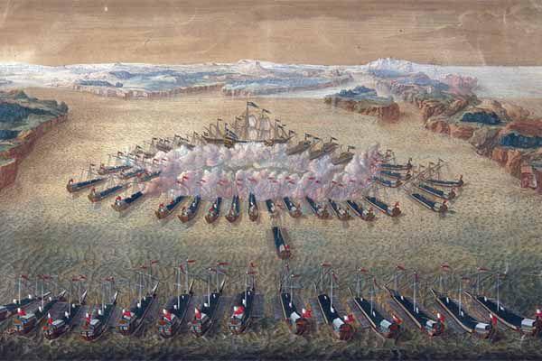 «Русский орел мух не ловит». Как Петр I одержал первую победу на море история, армия, петр великий, петр первый, флот, битва, победа
