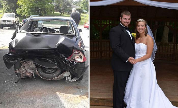 Муж во второй раз организовал свадьбу для своей жены, потерявшей память в автокатастрофе