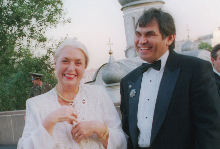 80-летняя Лидия Федосеева-Шу…