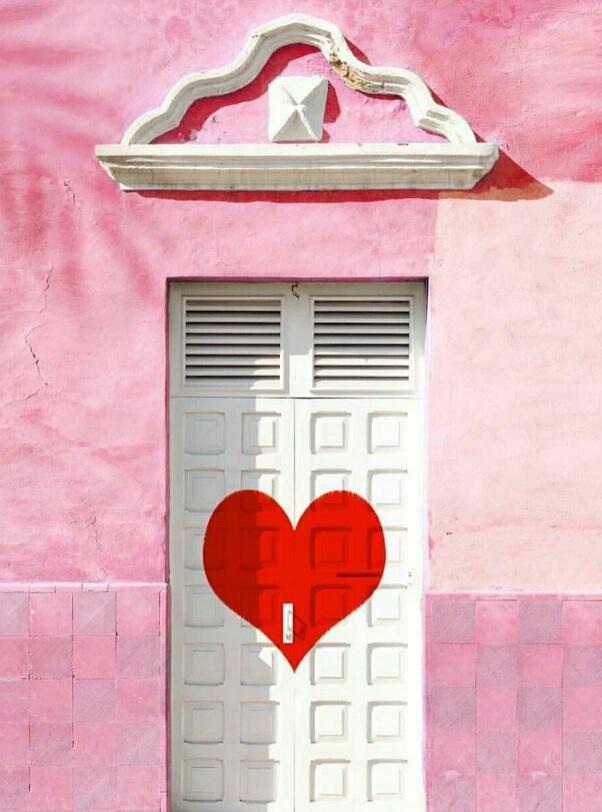 Влюблённая...дверь!