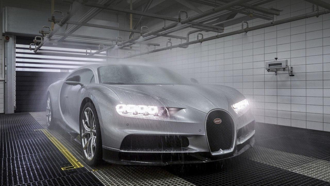 На заводе Bugatti
