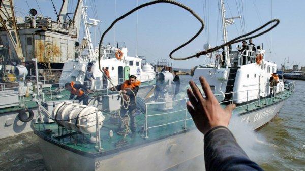 Украинский «флот на вёслах» не в силах противостоять российской береговой охране