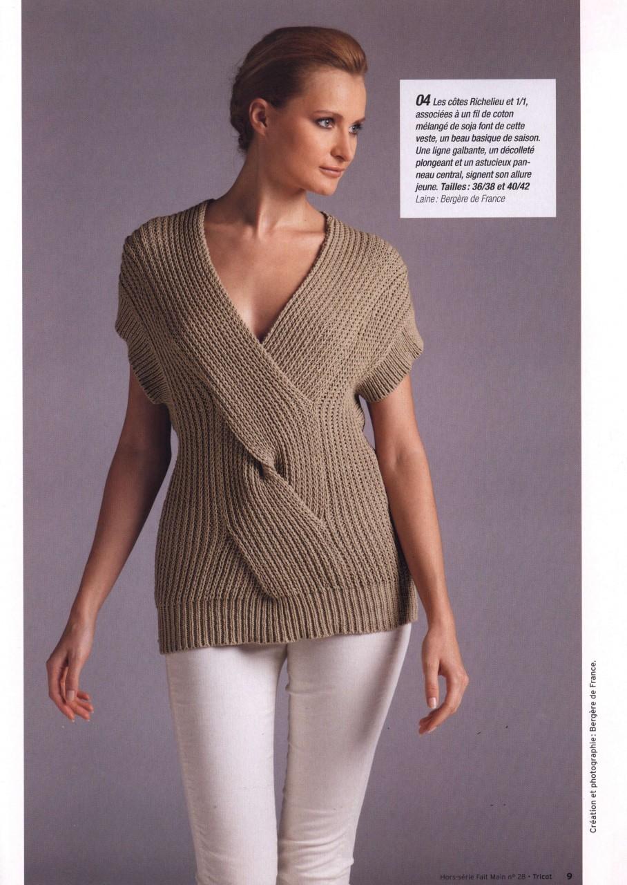 Оригинальные модели для вязания спицами