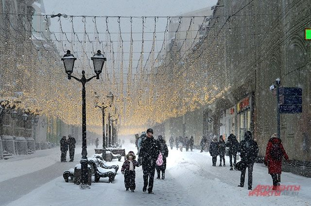 МЧС предупредило москвичей о снеге и гололедице