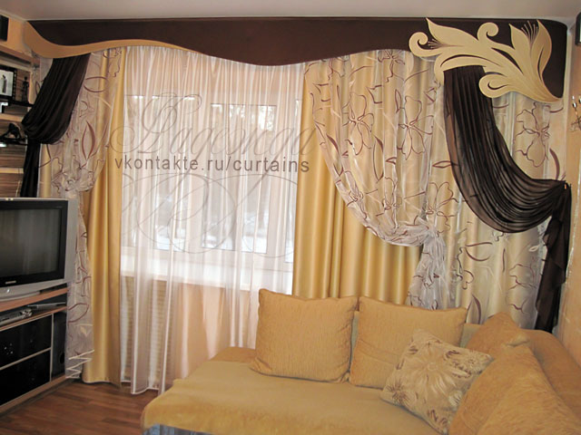 """Интерьер гостиной шторы гостиной фото леруа """" креативный диз."""