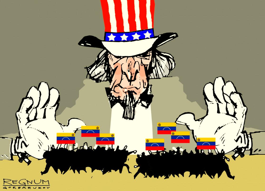 До крайности известный сценарий: США начинают в Венесуэле госпереворот