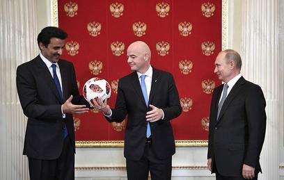 Россия передала Катару эстафету чемпионата мира