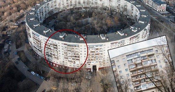 """Как живут люди в известном московском """"круглом доме"""""""