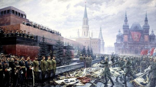 Этот день вистории: 1945 год— вМоскве состоялся парад Победы
