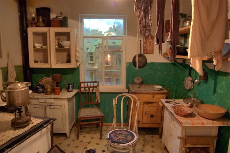 Интерьер кухни история возникновения