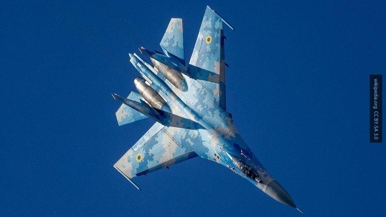 Разбившийся на Украине истре…