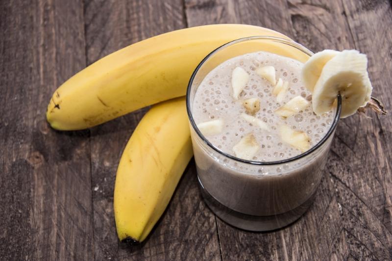 смузи с бананом без молока