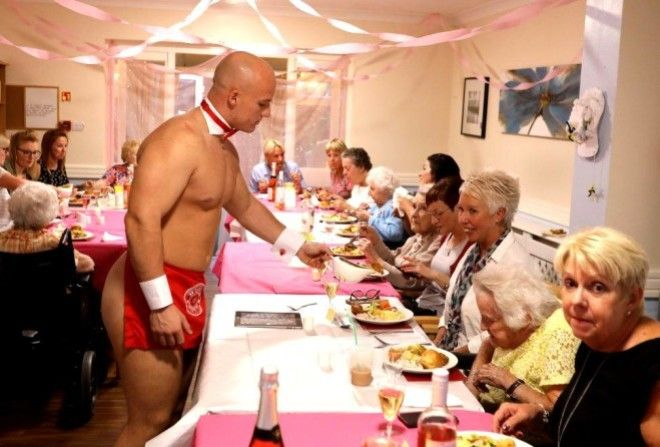 Бабули из дома престарелых з…