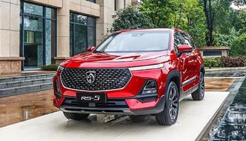 Baojun RS-5 стал новым флагманским кроссовером GM и SAIC