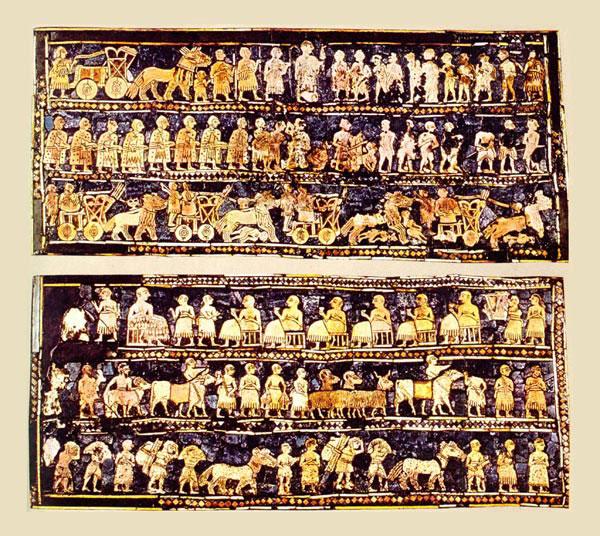 Шумерские тексты содержат описание истории 4 — миллиардной давности?