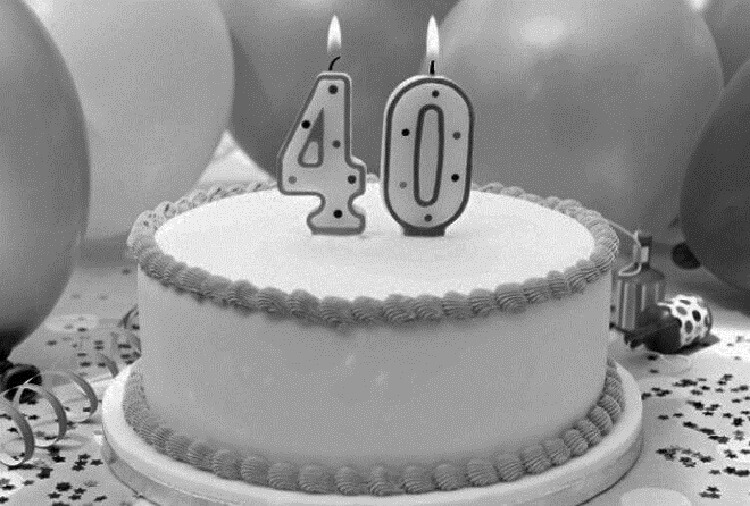 Почему не стоит отмечать 40-летие?