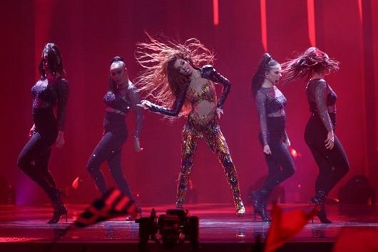 Самые смелые наряды «Евровидения-2018»