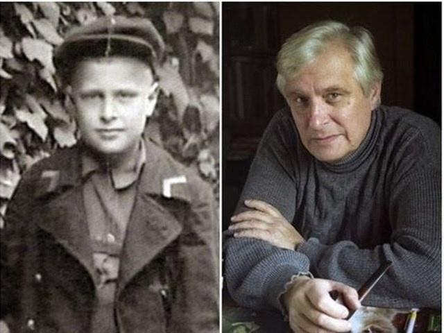 Звезды советского кино в детстве.