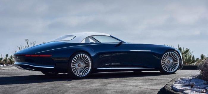 Mercedes-Maybach 6 Cabriolet - автомобиль из 2035 года