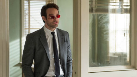 First look at Charlie Cox as Daredevil