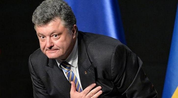 Боец «Азова» унизил Порошенко во время официальной церемонии
