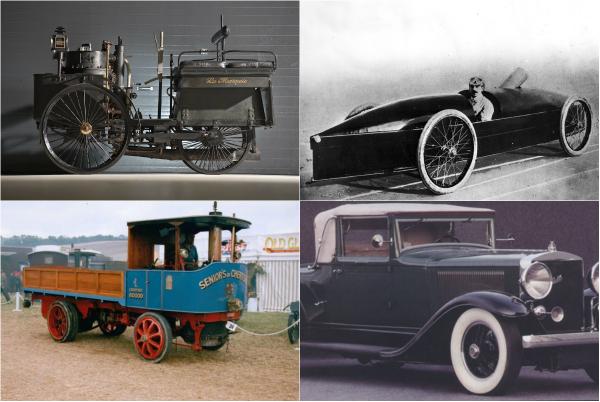 10 знаковых автомобилей с паровым двигателем