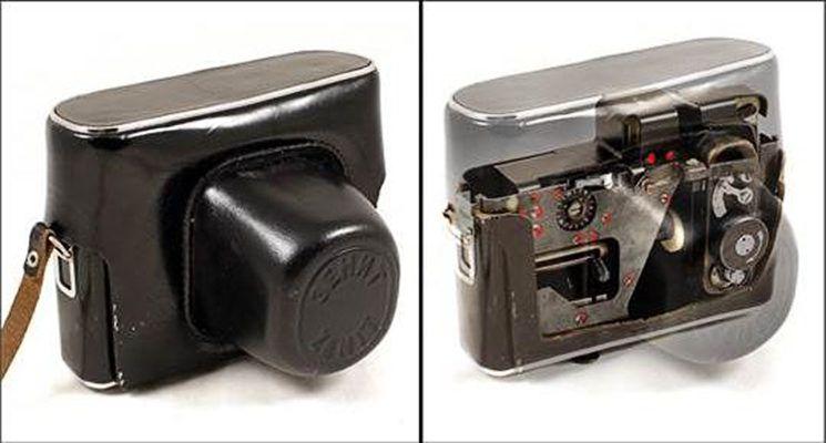 На аукционе продана советская шпионская камера, замаскированная под… фотоаппарат