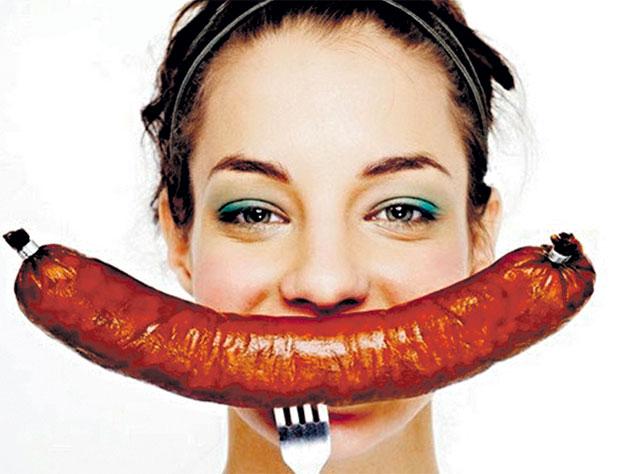 Российская студентка придумала колбасу для похудения