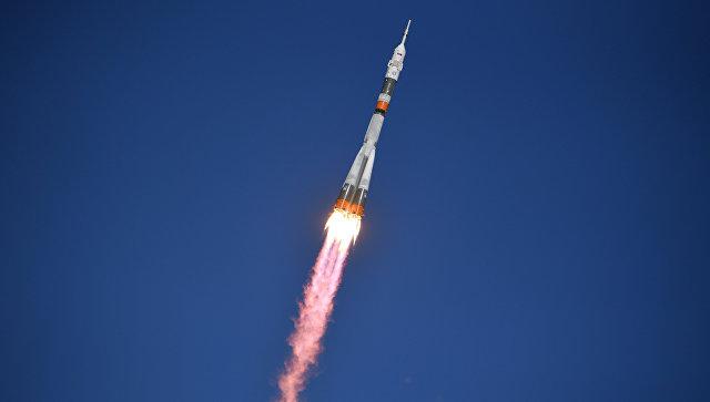 """Во время старта ракеты """"Союз"""" к МКС произошла авария"""