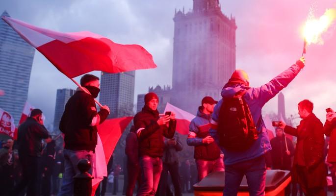 Польша грязно надругалась над Россией