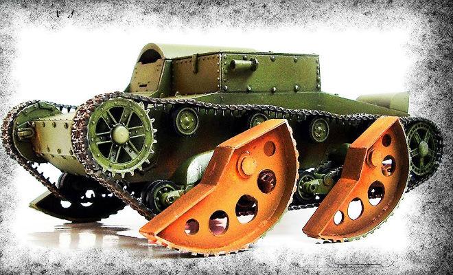 Зачем армии СССР был нужен прыгающий танк